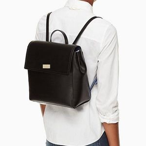 ♠️Kate Spade Quincy Putnam Drive Leather Backpack